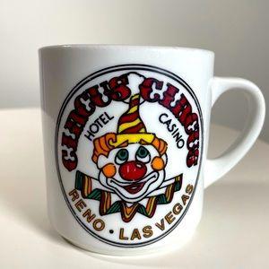 Vegas Circus Circus  Hotel Casino vintage mug